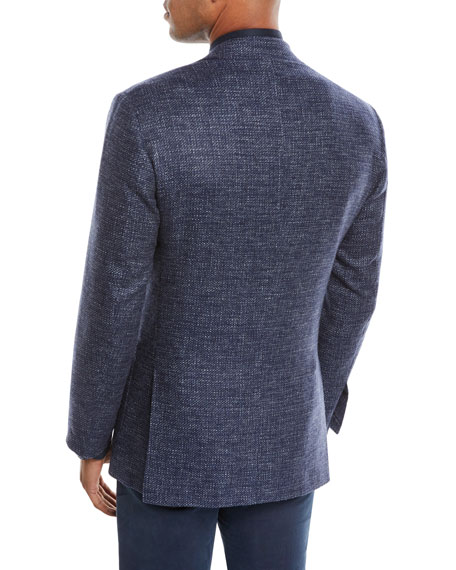Kiton Men's Tic Cashmere Two-Button Jacket