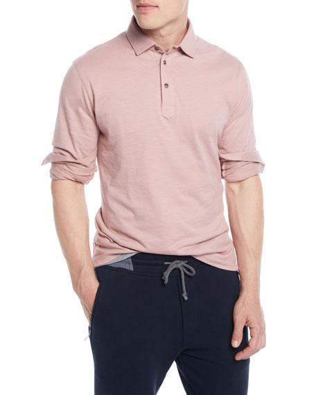 Men's Long-Sleeve Polo Shirt