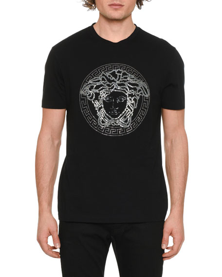 Image 1 of 2: Men's Medusa Head Graphic T-Shirt