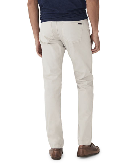 Image 2 of 2: Faherty Men's Comfort Twill Five-Pocket Pants