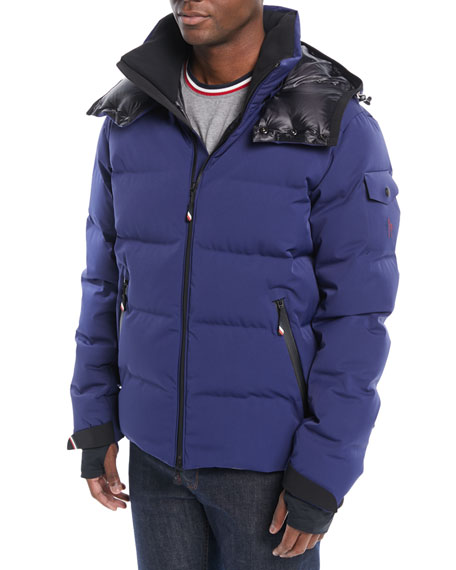 Moncler Grenoble Men's MontgeTech Quilted Hooded Puffer Jacket