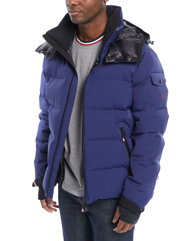497dffafd Men's MontgeTech Quilted Hooded Puffer Jacket