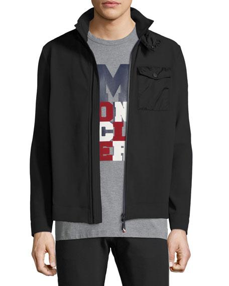 Moncler Grenoble Men's Maglia Zip-Front Shirt Jacket