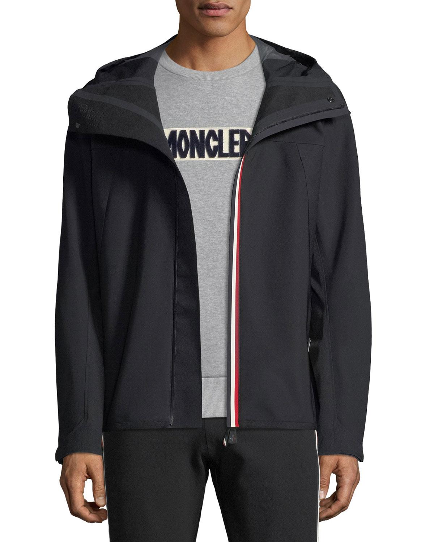 a5a4259a0 Moncler Grenoble Men's Maglia Zip-Front Hoodie Jacket   Neiman Marcus