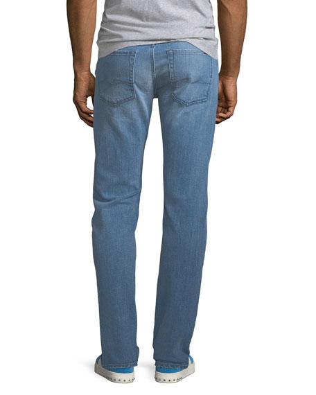 7 For All Mankind Men's Slimmy Straight-Leg Jeans