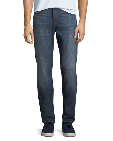 7 For All Mankind Men's Adrien Slim Airweft Jeans