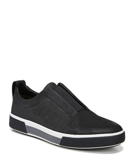 Men's Ranger Suede/Canvas Slip-On Low-Top Sneakers