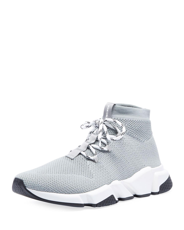 064e12028bb5 Balenciaga Men s Speed Lace-Up Mesh Sneakers