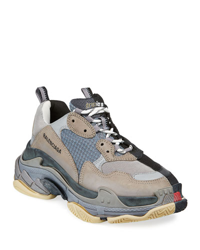 Men's Split Triple S Dad Sneakers