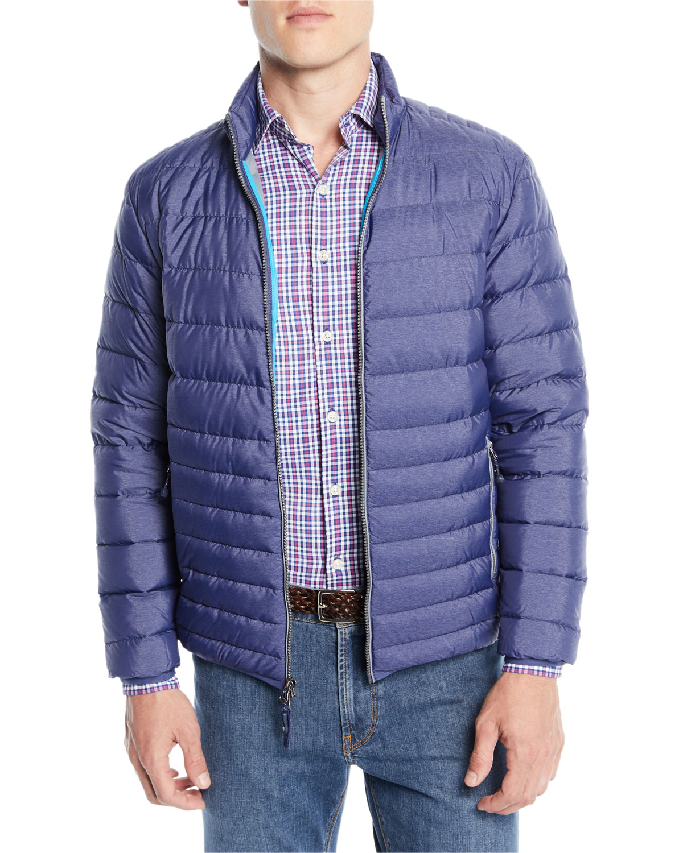 Peter Millar Crown Elite Light Bomber Jacket Neiman Marcus