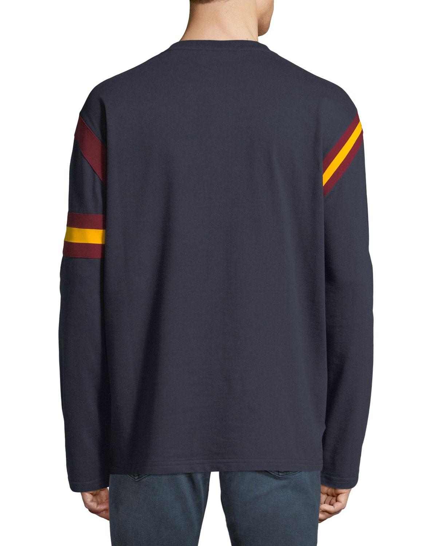 0e2ceb99 CALVIN KLEIN 205W39NYC Men's Long-Sleeve Rugby T-Shirt   Neiman Marcus