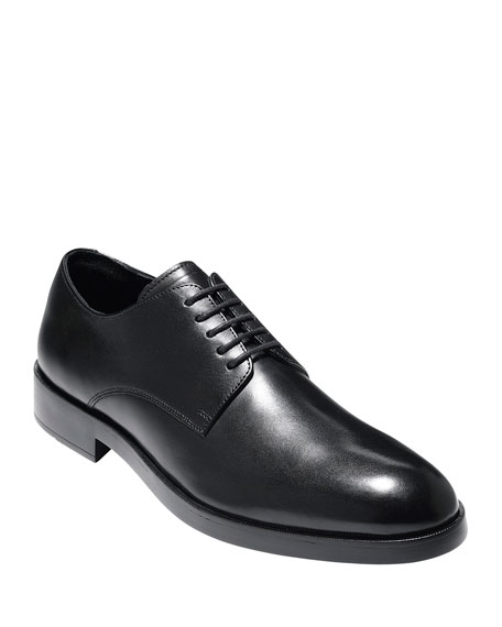 Men's Harrison Grand Leather Derby Shoe, Black
