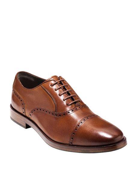 Cole Haan Hamilton Grand Cap-Toe Leather Oxford