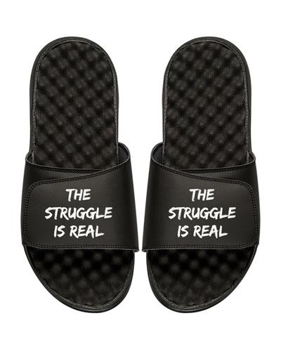 Men's The Struggle Is Real Slide Sandal
