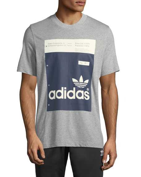 Adidas Men's Paint-Swatch Graphic T-Shirt