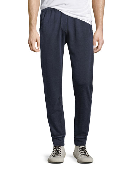 ATM Anthony Thomas Melillo Men's French Terry Cloth Track Pants