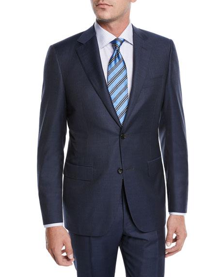 Canali Men's Tonal Stripe Two-Piece Suit