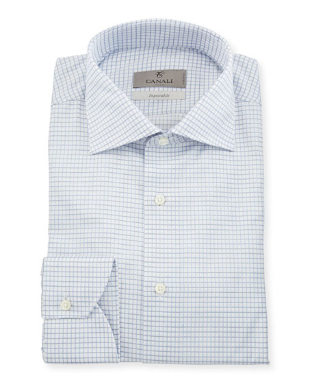 Canali Impeccabile Tattersall Dress Shirt