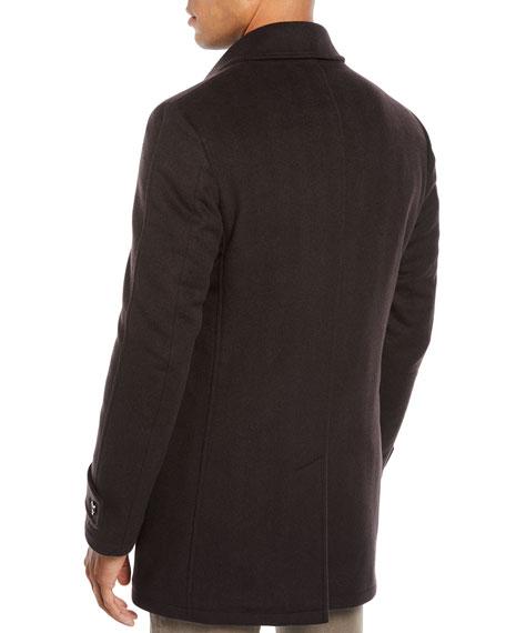 Corneliani Men's Herringbone Top Coat