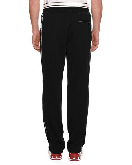 Men's Logo Sweatpants w/ Side Zippers