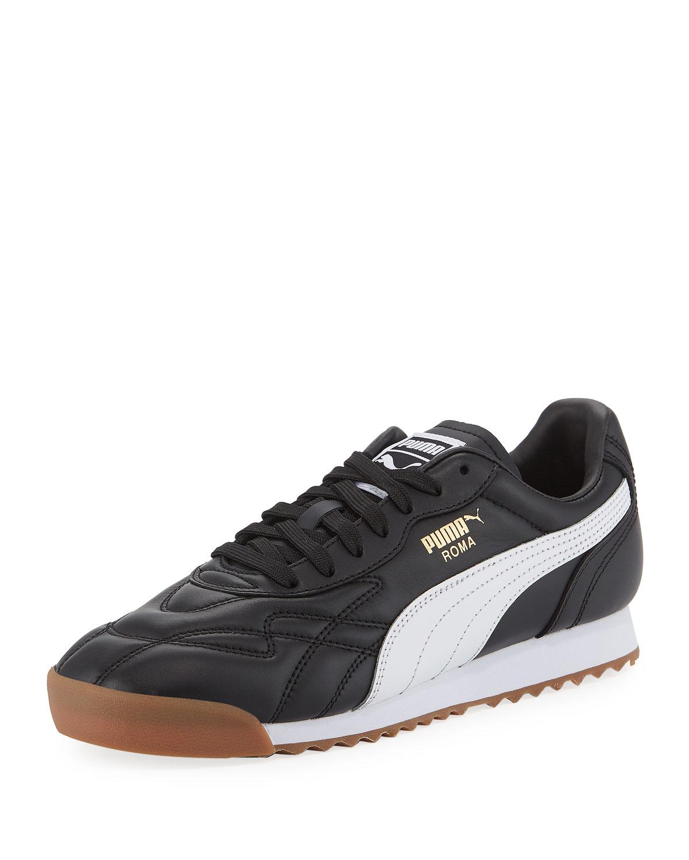 d3de99713261 Puma Men s Roma Anniversary Leather Sneakers