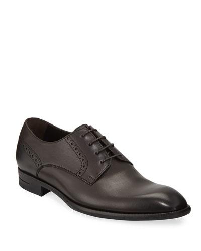 Men's New Flex Derby Shoes, Brown