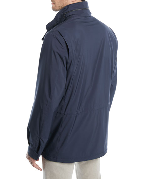 Image 4 of 4: Loro Piana Men's Traveler Windmate Storm System Jacket