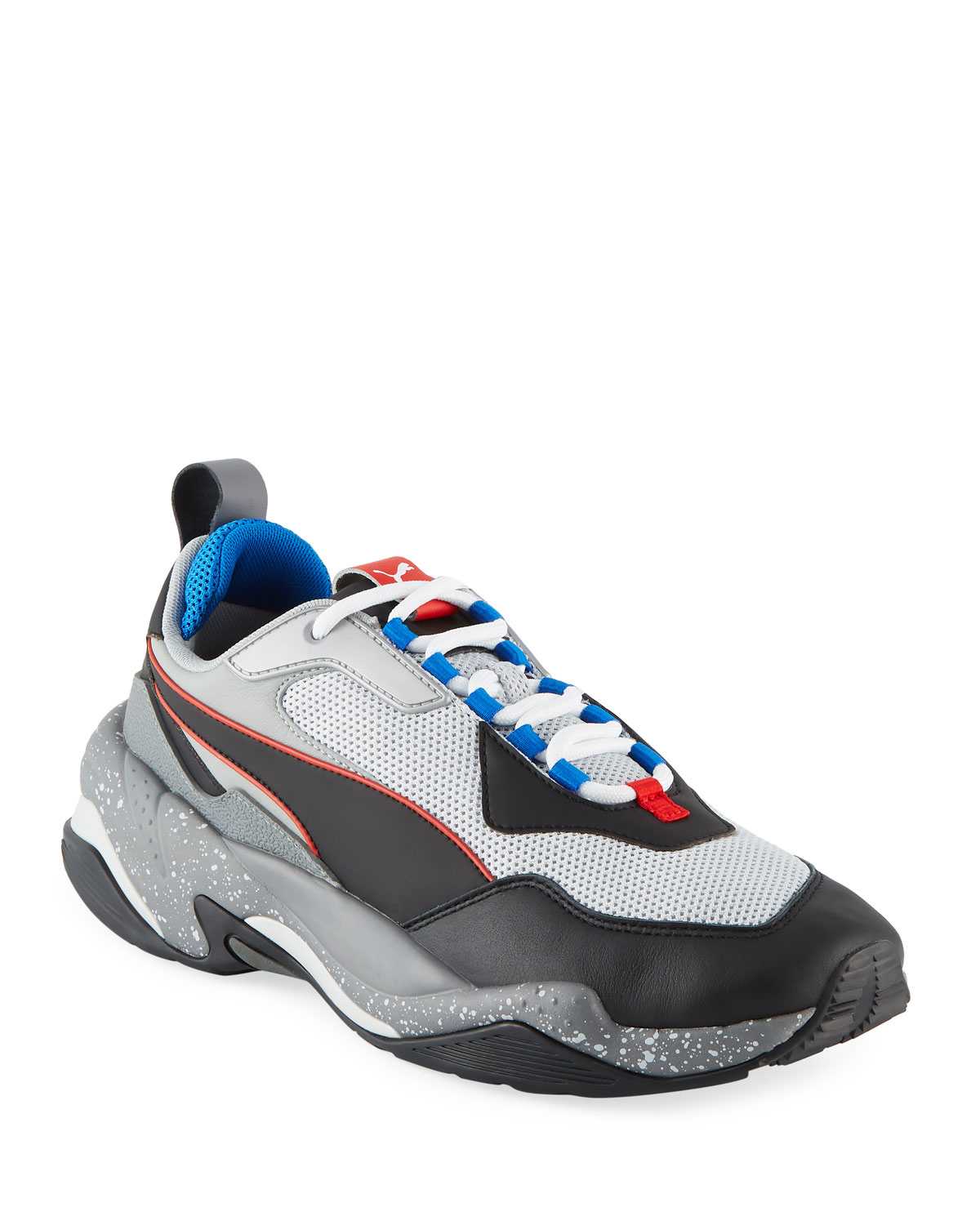 Puma Men s Thunder Electric Leather Trainer Sneakers  15b50114b