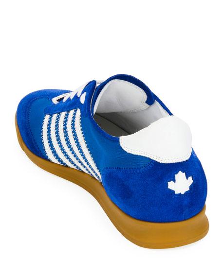 Men's Canvas & Suede Sneakers