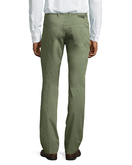 Ray Standard-Fit Five-Pocket Pants