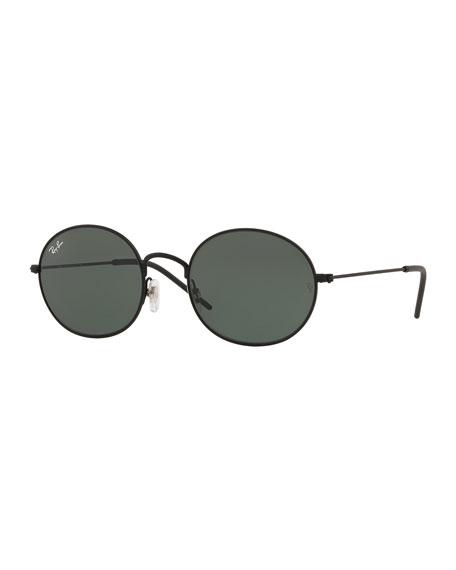Ray-Ban Men's RB3594 Round Sunglasses, Black
