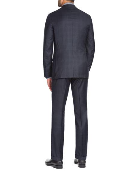 Isaia Men's Tonal Plaid Two-Piece Wool Suit