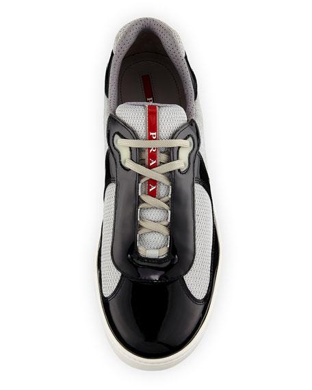 Men's Vernice Low-Top Bike Sneakers