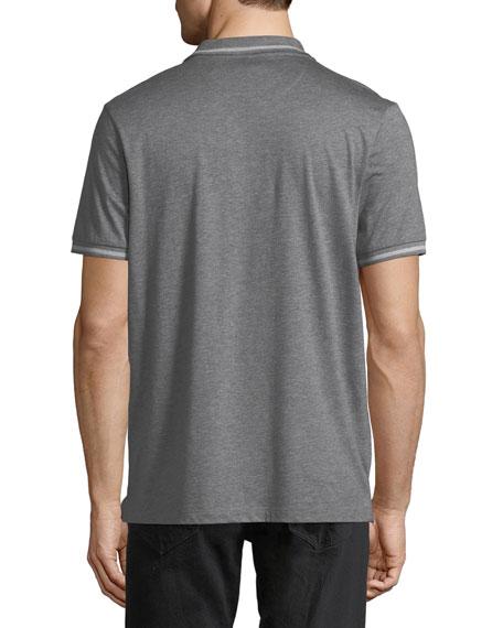 Cotton/Silk Polo Shirt