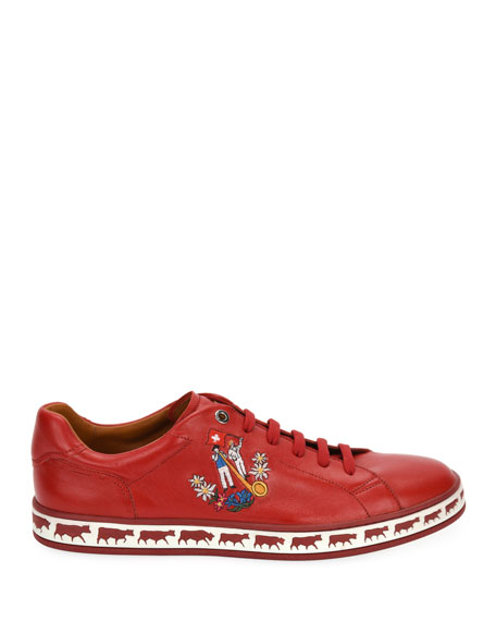 Men's Anistern 18 Leather Low-Top Sneakers