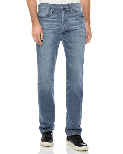 Men's The Classic-Fit Jeans, Medium Blue