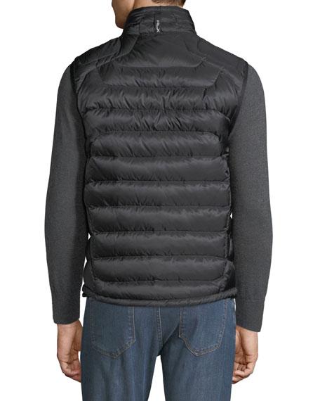 Ralph Lauren Men's Zip-Front Down Puffer Vest, Black