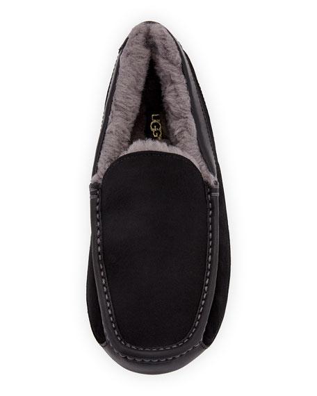 62b6c50c75f3 Image 2 of 4  Men s Ascot Leather-Trim Slippers