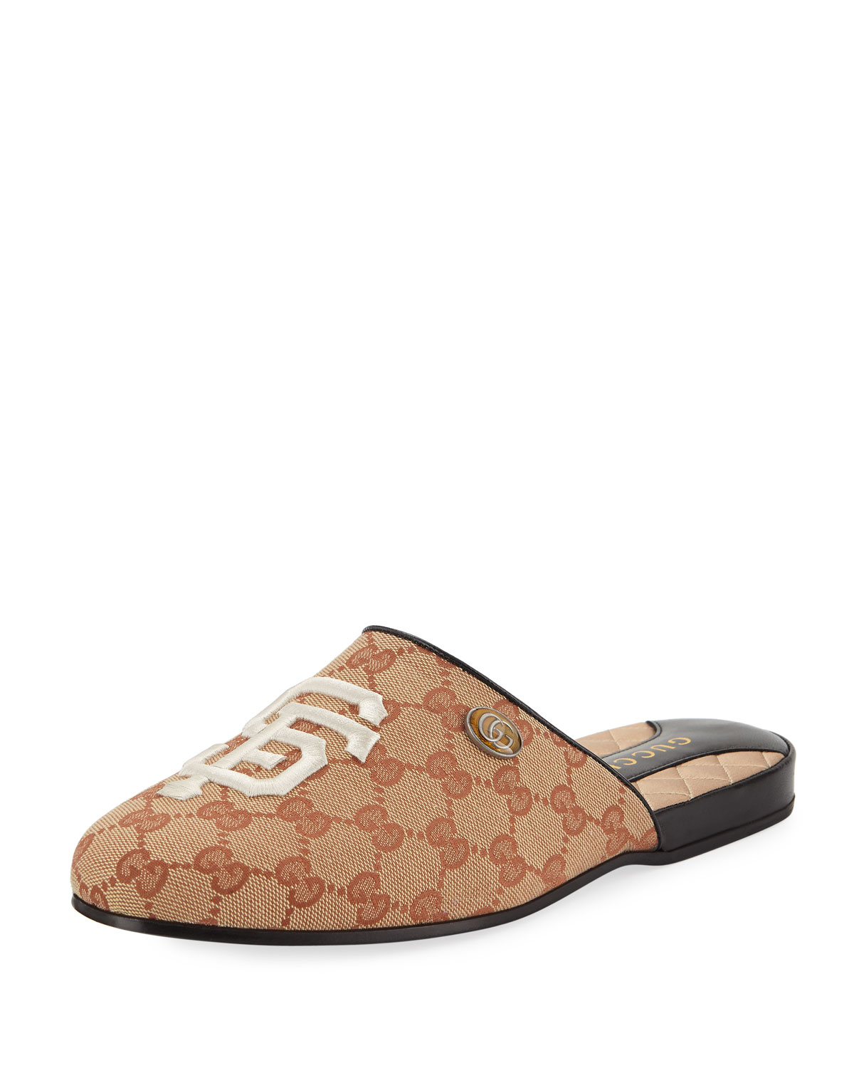 919846926b8e Gucci Original GG Slippers with SF Giants™ MLB Patch