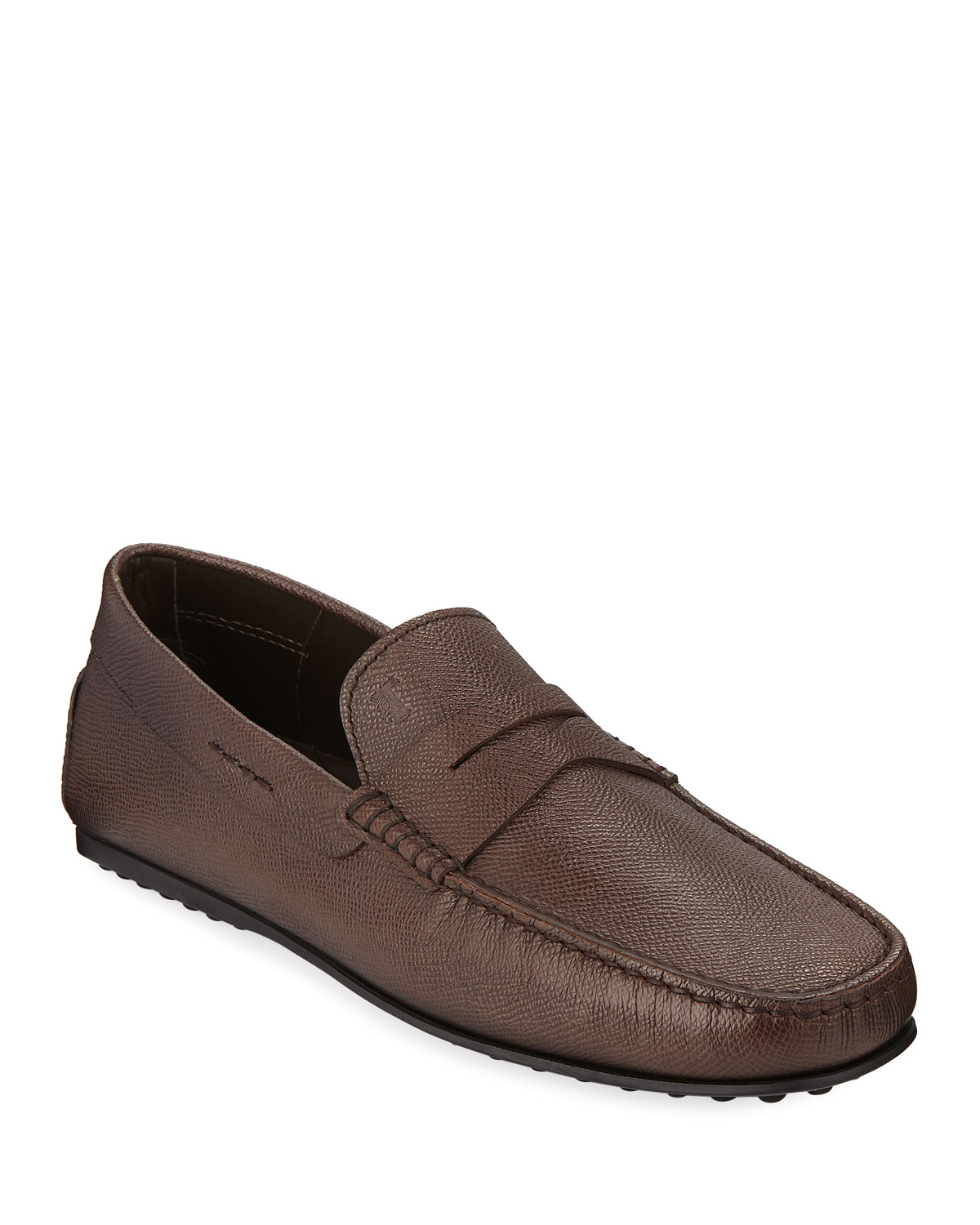 e208f4d8b94 Tod s Men s City Gommini Leather Penny Loafer