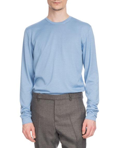Berluti Men's Cashmere/Silk Crewneck Sweater
