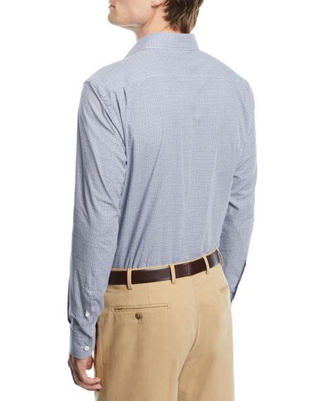 Men's Tonal-Check Sport Shirt