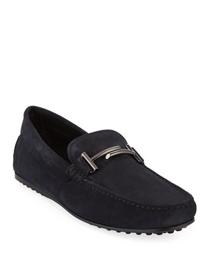 f309db4f2 Tod s Men s Double-T City Gommino Loafers