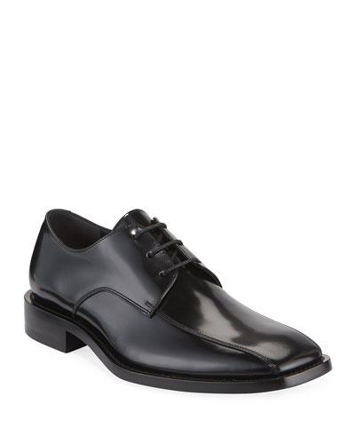 Men's Lace-Up Leather Derby Shoe