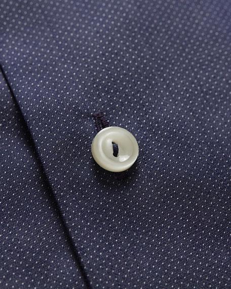 Eton Men's Pique Slim-Fit Dress Shirt