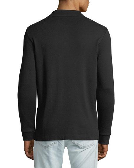 Burberry Men's Hartford Long-Sleeve Polo Shirt