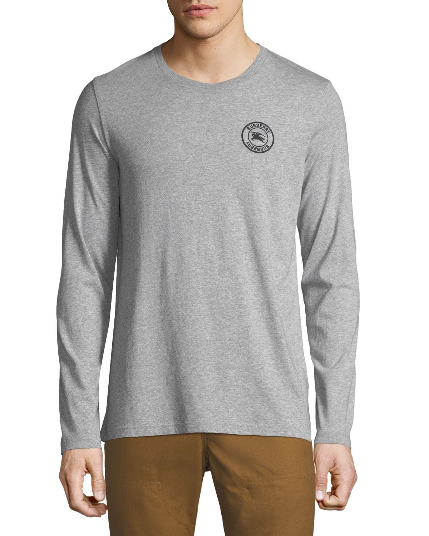 1a518901 Burberry Men's Jenson Long-Sleeve T-Shirt | Neiman Marcus