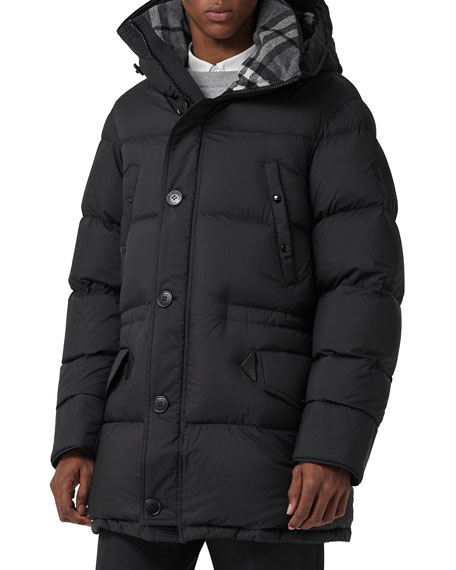Burberry Hartson Hooded Quilted Jacket