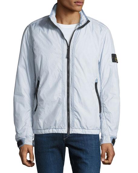 Men's Lightweight Ripstop Zip-Front Jacket