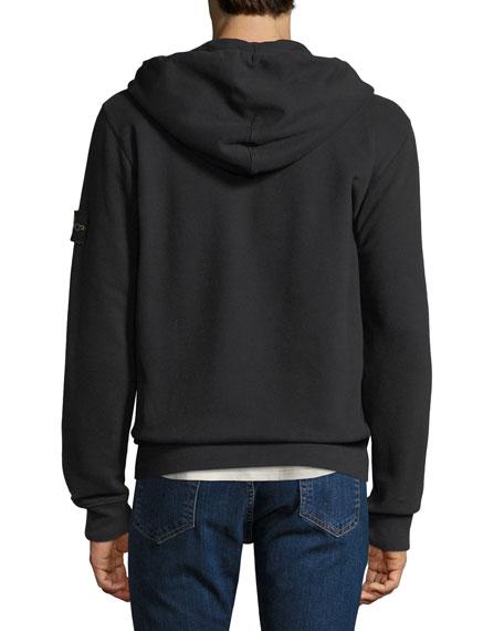 Men's Hooded Zip-Front Sweatshirt
